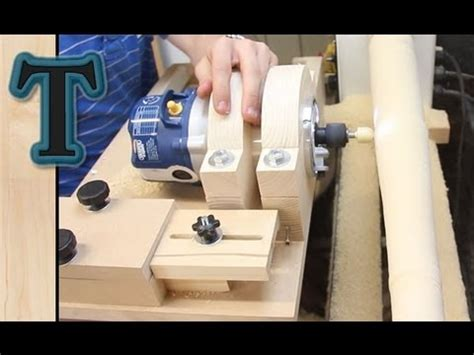 woodworking plans project cool build wood lathe   tube