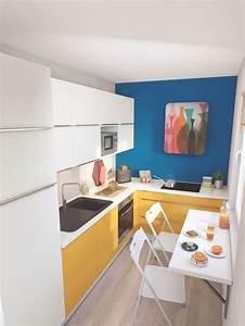Table Cuisine étroite : am nager une cuisine troite c t maison ~ Teatrodelosmanantiales.com Idées de Décoration