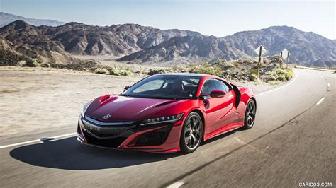 2017 acura nsx red and white front hd wallpaper 20