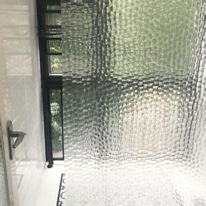Translucent Shower Curtain - 3d bath shower curtain clear cubes water transparent