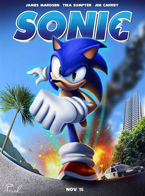 [19+] Sonic The Hedgehog Movie 2019 Wallpapers on ...