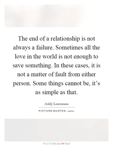 Sometimes Love Is Not Enough Quotes