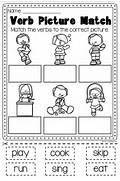 Verbs Worksheet It Covers Action Verbs Past Present Free Coloring Pages Of Action Verbs Examples Of Action Verbs Collection Of Verb Worksheets For Kindergarten Ommunist