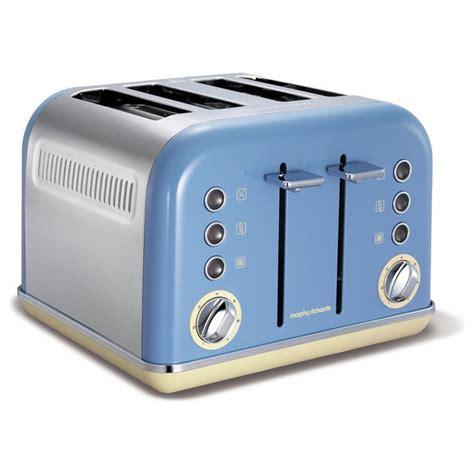 buy morphy richards 242007 retro toaster blue at argos