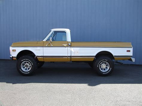 1972 Chevrolet Cheyenne 4x4 Pickup 79111