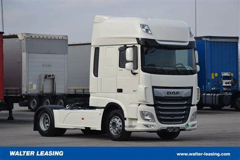 daf hgv tractor unit xf  ssc euro   walter leasing