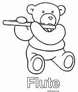 Flute Coloring Sheet Google Sheets Flutes sketch template