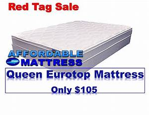 Queen eurotop only 105 yelp for Affordable mattress outlet