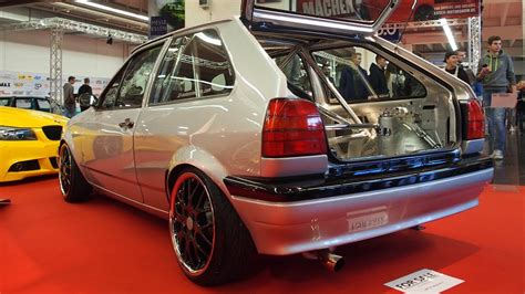 vw polo 86c tuning volkswagen polo 86c coupe 1991 tuning 1 6l g40 204 ps bbs rs 764 6 5j x r16