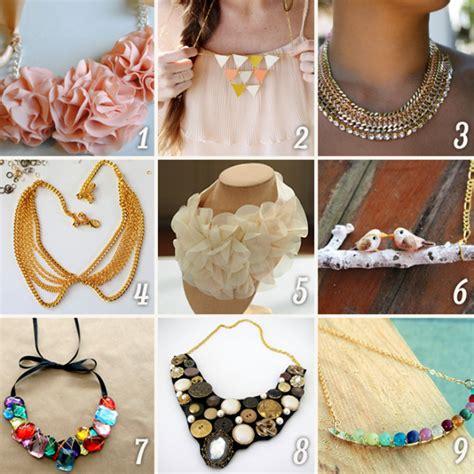Gestalten Diy by Diy Fashion 15 Amazing Necklace