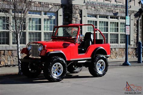 custom willys jeepster 1973 cj5 350 chevy custom show jeep 4x4