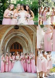 Robe Rose Pale Demoiselle D Honneur : les 25 meilleures id es de la cat gorie robes de demoiselle d 39 honneur roses sur pinterest ~ Preciouscoupons.com Idées de Décoration