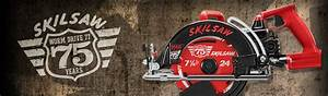75th Anniversary Of The Worm Drive Skilsaw 77