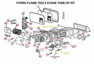 Atwood    Hydroflame Furnace Model 1522 2 Stage Tune