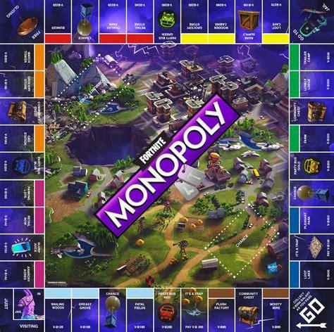 fortnite monopoly a cool fortnite battle royale monopoly board someone