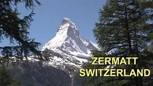 Zermatt town, Switzerland - YouTube