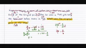 Algebra 1  2 4 Solving Multi Step Equations