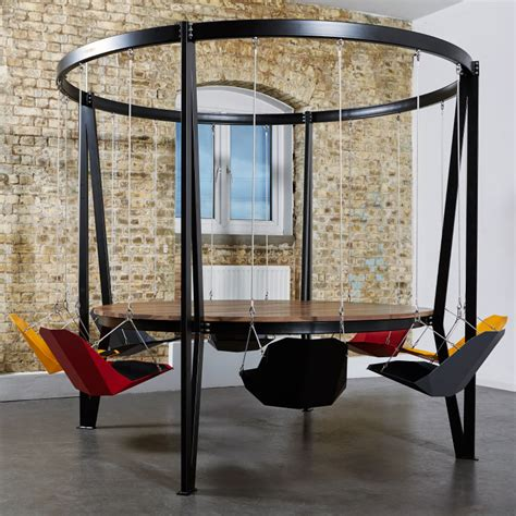 Swing Table by The King Arthur Swing Table Duffy