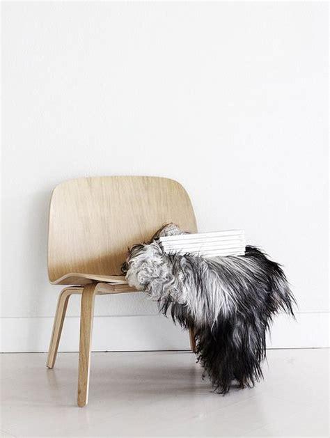 muuto chair sheepskin amm furniture
