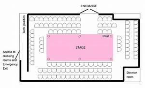 Diagram Of The Arena Theatre   Venue 119  U0026gt  121 Montgomery