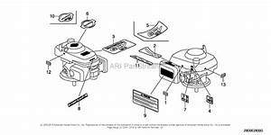 Honda Gcv190 Engine Parts Diagram