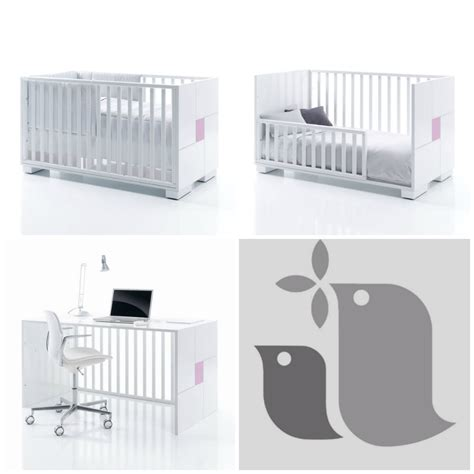 chambre de bébé évolutive lit barreau evolutif