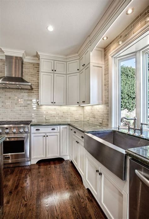 farmhouse kitchen sinks 25 best ideas about stainless steel apron sink on 3708