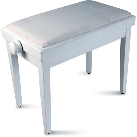 delson banquette piano blanche r 233 glable pas cher achat vente si 232 ge banquette cdiscount