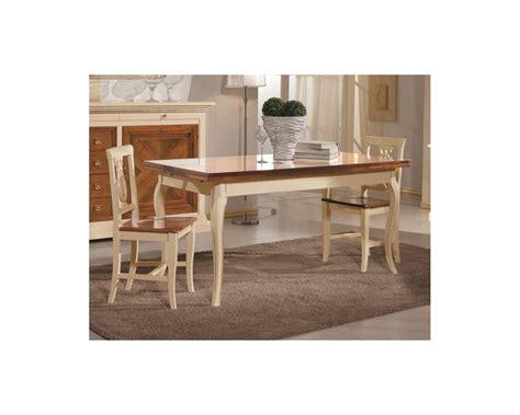Tavoli E Sedie In Legno Tavolo Legno Quadrato Bicolore 100x100 Allungabile 4 Sedie