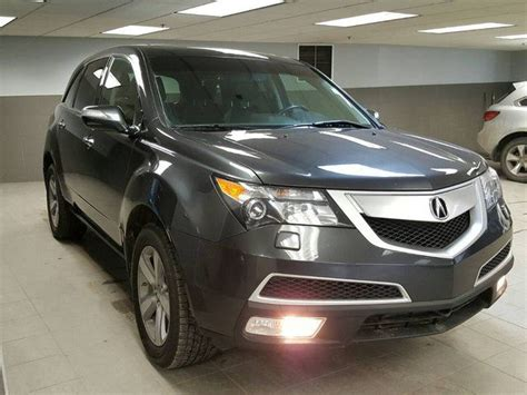 acura mdx technology package sh awd calgary