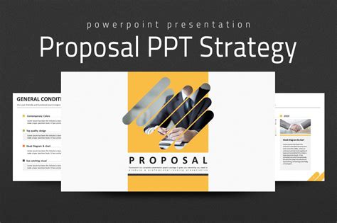 business proposal strategy   templates
