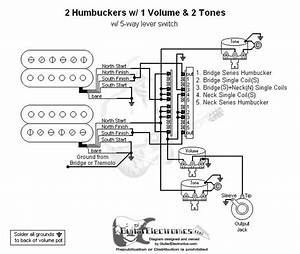 Single 1 Volume 3 Way Switch Wiring Diagram Humbuckers
