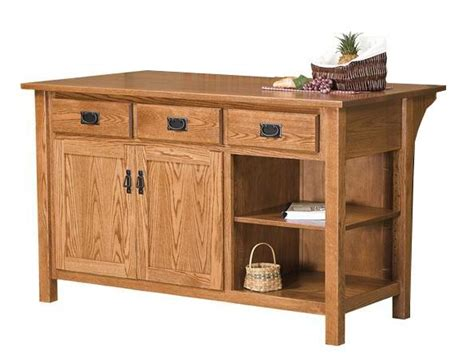 amish kitchen island arts and crafts kitchen island from crafters 1244