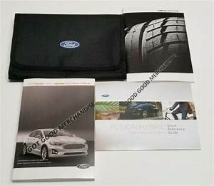2020 Ford Fusion Hybrid Owners Manual Platinum Titanium Se