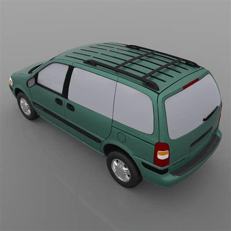 1998 Chevy Venture 3d Model Obj Mtl Cgtradercom