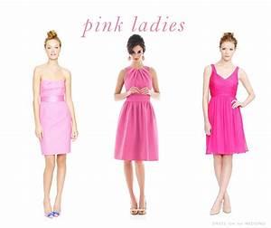 Pink bridesmaid dresses for Short pink wedding dresses