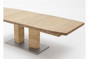 Plateau En Bois Massif : table repas bois massif plateau bateau 180 270 cm cbc meubles ~ Teatrodelosmanantiales.com Idées de Décoration