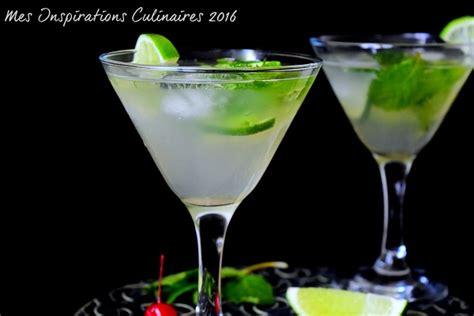 recette de cuisine facile et rapide avec photo mojito sans alcool cocktail menthe et citron vert