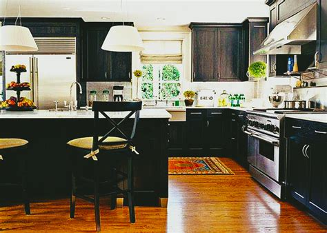 modern black kitchen design custom black kitchen cabinets roy home design 7581