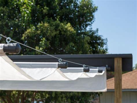 build  outdoor canopy hgtv