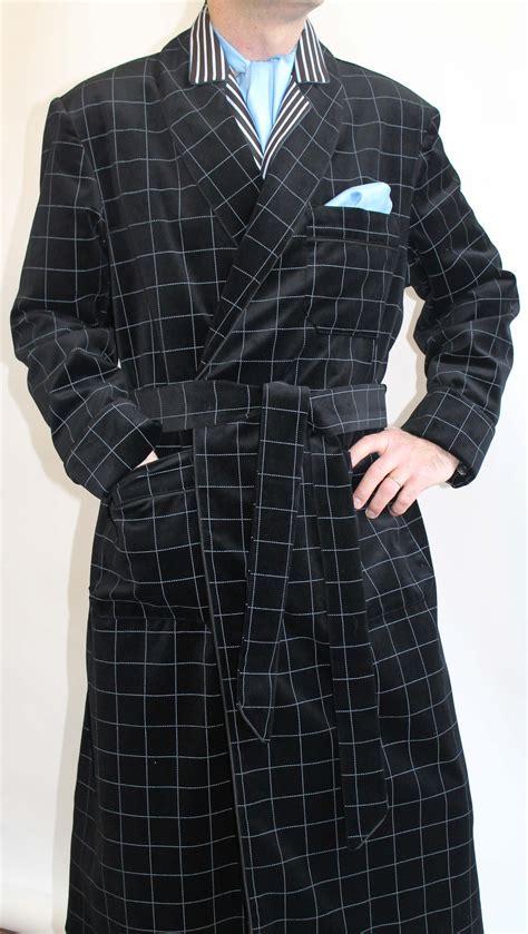 robe de chambre homme cachemire robe de chambre pour homme en velours de coton doublure