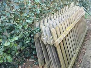Barrière En Bois Jardin : photo barri res en bois environ 25 m tres 8 barri r ~ Premium-room.com Idées de Décoration