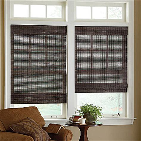jcpenney home custom bamboo woven wood roman shade