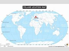 Where is Poland , Location of Poland in World Map