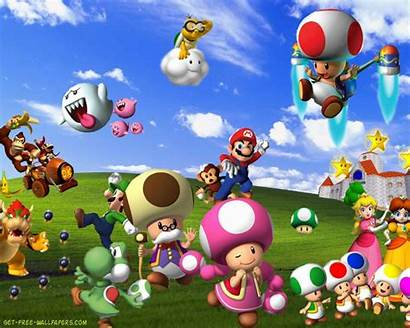 Mario Super Bros Games Wallpapers Bliss Background