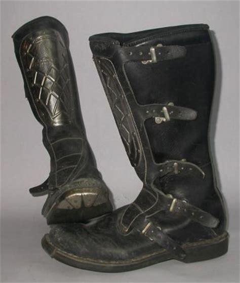 vintage motocross boots for vintage alpine stars hi point 15 quot motocross boots leather