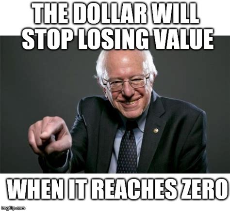 Econ Meme - bernie sanders learns economics imgflip