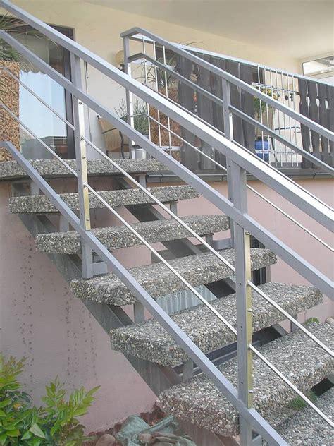 Stahltreppen Fuer Innen Und Aussen by Innen Und Au 223 Entreppen Metallbau H 228 Usler