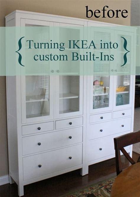 ikea built in cabinets ikea built ins living room pinterest