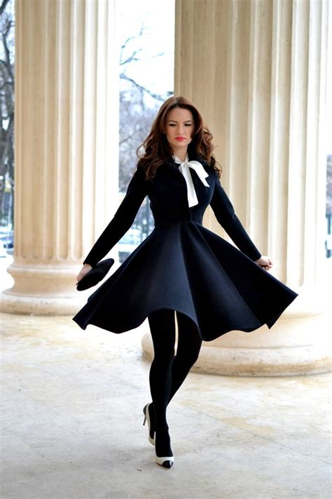 20 Stylish Outfits With Dresses For Cold Days Style
